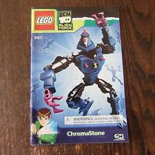 Lego Ben 10 Alien Force 8411 Chromastone Instructions ONLY Manual VGUC