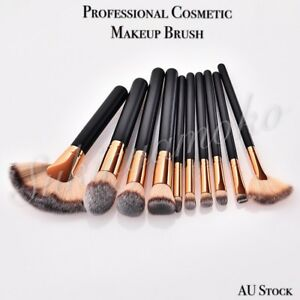 10 Professional Cosmetic Makeup Brushes