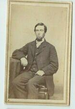 Vintage CDV- Pierce Purcell by Wm. H. Kenyon Photographer New Britain, CT (B07)