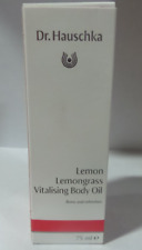 Dr. Hauschka Lemongrass Vitalising Body Oil, 2.5 oz