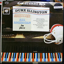 VINYL RECORD DUKE ELLINGTON ALL AMERICAN IN JAZZ SPECIAL COLLECTOR'S SERIES