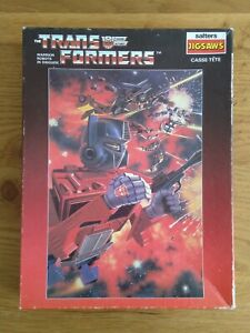 Vintage Transformers G1 Salters Jigsaw Puzzle 150 Pieces Boxed 1984 Complete