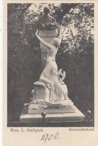 Wien, Stadtpark, Bruckner-Denkmal ngl F9544