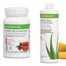 Herbalife Aloe concentrate + Herbal Tea Concentrate 1.8 Oz - FREE SHIPPING