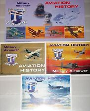 LIBERIA 2003 4850-61 Block 487-89 Military Aircrafts Flugzeuge Airplanes MNH