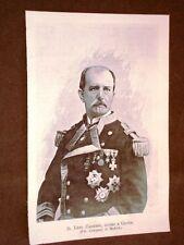 Guerra Ispano - Americana nel 1898 D.Luis Cadarso Ucciso a Cavite