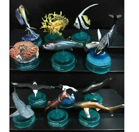 lot of 12 Kaiyodo AQUATALES Pacific Fish SET FIGURE w stand #W1