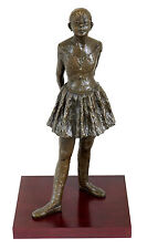 Edgar Degas - Vierzehnjährige Tänzerin - Bronze auf Holzsockel