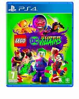 Lego DC Super-Villains Sony Playstation 4 PS4 Game