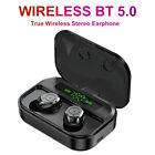 Waterproof Bluetooth 5.0 Earbuds Headphone Wireless Headset Noise Cancelling Hot