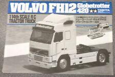 Tamiya 1/14 Truck 56312 Volvo FH12 Globetrotter Build Manual 1055961 11055961