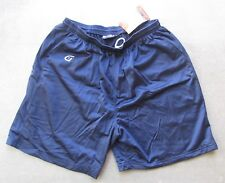 "GAME WEAR TEAM SPORTS SHORTS W/POCKETS NAVY BLUE 7"" INSEAM ADULT SIZE XLARGE"