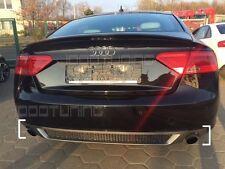 Audi A5 8T Sportback Facelift Diffusor Heckdiffusor S-Line Look mit Wabengitter