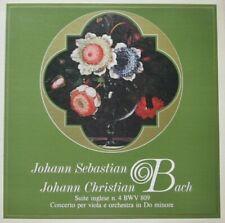 EBERHARD KRAUS - JOSEPH COTTON - JS BACH & JC BACH  -  LP - QUADRIFONICO