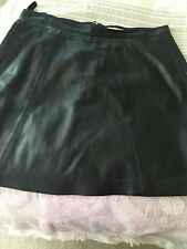 John Lewis, Weekend Collection,  Leather Skirt, Size 16