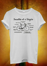 Benefits Of A Bicycle Health Funny Cool Women Unisex T Shirt Tank Top Vest 837