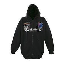 Pijama chaqueta Hoodie Sweat capucha Lavecchia negro 3xl-4xl-5xl-6xl-7xl-8xl