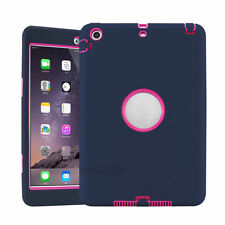 For iPad 2 3 4 &mini 1 2 3 Shockproof Armor Military Heavy Duty Case Cover