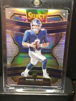 2019 Panini Select Daniel Jones Rookie RC Silver Prizm Giants