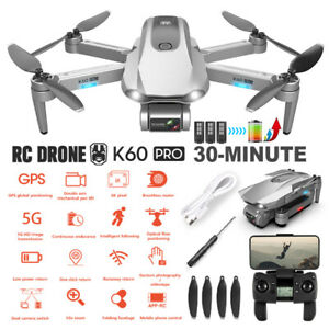 5G 6K GPS Drone x Pro with HD Dual Camera Drones WiFi FPV Foldable RC Quadcopter