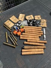 QUANTITY OF OLD FISHING ROD BUILDING FITTINGS.