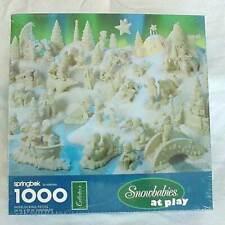 Springbok Snowbabies At Play 1000 Piece Jigsaw Puzzle NEW