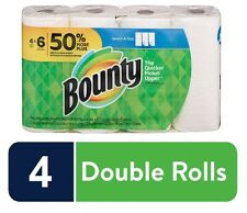 Bounty Select-A-Size Paper Towels, White, 4 Double Rolls = 6 Regular Rolls