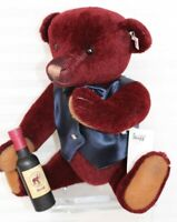 Steiff  European LE 258/1500 (excludes Germany) Sommelier Wine Teddy Bear 674037