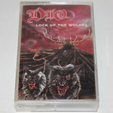 DIO Cassette Tape Lock Up The Wolves 1990 Heavy Metal Ronnie James Dio Sabbath