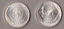 MESSICO MEXICO  SILVER SILBER ONCIA 1994 ARGENTO CHAAC-MOOL 5 PESOS