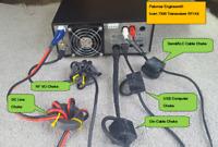 Icom 7300 Transceiver RFI Kit - 5 Noise Reduction Filters