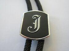 Jesse Josh Bolo Tie Ic Lot 23 Vintage Swank Monogram with J Initial John