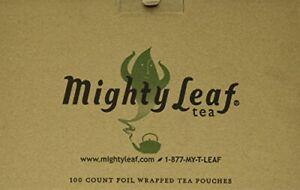 Mighty Leaf Organic Green Dragon Tea 100 Tea Pouches