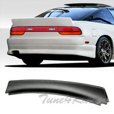 For 89-94 240SX S13 Hatchback Bunny Style Rear ABS Plastic Trunk Spoiler Wing