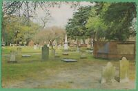 Vintage Postcard Georgia GA Savannah Cemetery Indian and Civil War