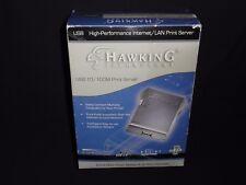 High Performance Usb 10/100m Print Server, Hps1U by Hawking