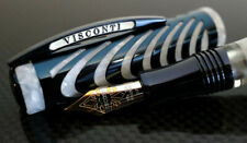 Visconti Blue and Mother of Pearl Ripple Limited Edition Fountain Pen