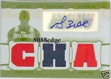 2006-07 TRIPLE THREADS PRINTING PLATE RELIC AUTO: GERALD WALLACE #1/1 AUTOGRAPH