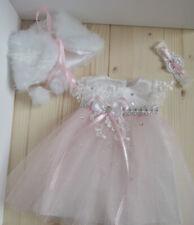 Vestido princesa vestido de baile boda para Baby Born 43 cm vestido de novia!