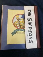 Vintage The Simpson's Binder Finder Trapper Keeper Folders 1990s Rare See Pics
