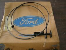 NOS OEM Ford 1973 1979 Lincoln Town Car Hood Release Cable 1974 1975 1976 1977