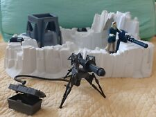Vintage Star Wars lot Imperial Attack Base Kenner  w/ Tri-pod Cannon & Hoth Han