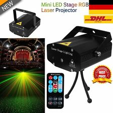 Mini LED Laser Licht Effekte Projector Bühnenlampe DJ Disco KTV Stage Xmas Party