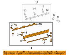 TOYOTA OEM 12-16 4Runner Exterior-Rocker Panel Molding Trim Left 7580635120B1