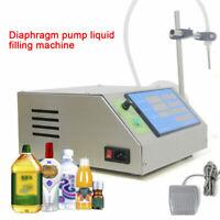 Single Head 5L Diaphragm Pump Liquid Filling Machine Semi-Auto 20-50cans/minute