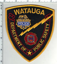 Watauga Public Safety (Texas) 2nd Issue Shoulder Patch