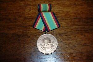 DDR Orden Medaille NVA Für Treue Dienste in Bronze mit Interimsspange