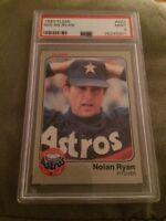 1983 Fleer Nolan Ryan Baseball Card #463 PSA 9 Mint Houston Astros Pitcher HOF