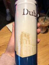 Starbucks Dubai City Limited Edition 12oz Plastic Tumbler Blue