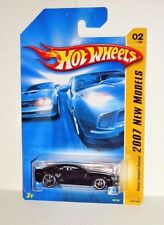 2007 Hot Wheels New Model #002 Chevy Camaro Concept - Variant Black